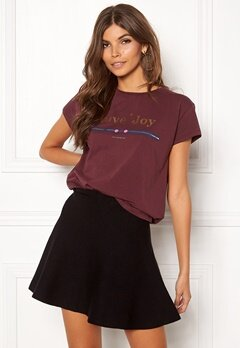 co'couture Cosma Dot Couture Tee 125 Berry Bubbleroom.se