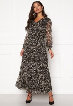 co'couture Cramps Floor Dress Black Bubbleroom.se