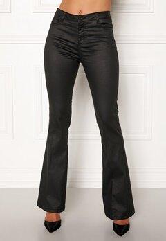 co'couture Denzel Coated Boot Cut Black Bubbleroom.se