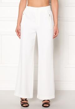 co'couture Eden Flare Pant Pants Offwhite Bubbleroom.se