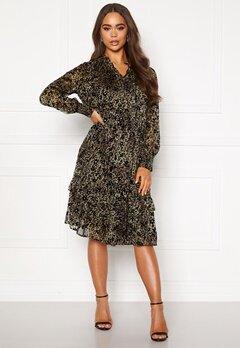 co'couture Gemma Frill Dress Army Bubbleroom.se