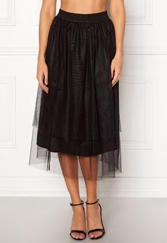 co'couture Glitter Mesh Skirt Black Bubbleroom.se
