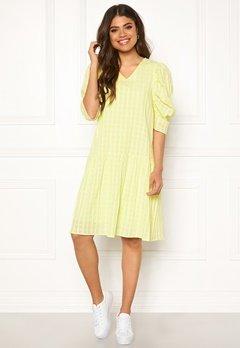 co'couture Idali Puffy Dress Yellow Bubbleroom.se