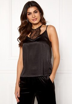 co'couture Mirage Lace Top Black Bubbleroom.se