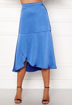 co'couture Mirage Sateen Skirt New Blue Bubbleroom.se
