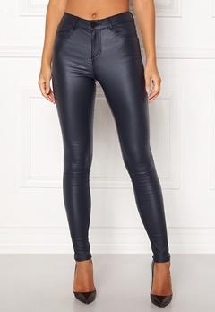 VILA Commit  New Coated Jeans Total Eclipse Bubbleroom.se