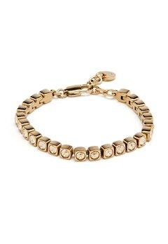 Dyrberg/Kern Cory Shadow Bracelet Shiny Gold Bubbleroom.se