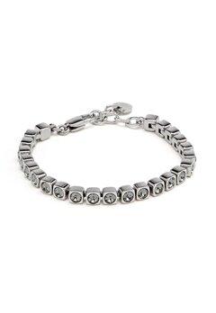 Dyrberg/Kern Cory SS Bracelet Shiny Silver Bubbleroom.se