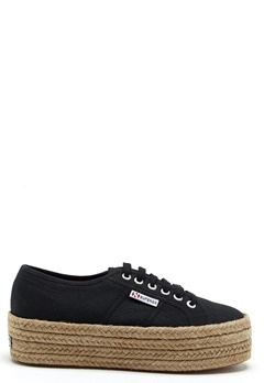 Superga Cotropew Sneakers Black Bubbleroom.se