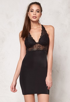 Culture Lacy Lace Dress Black Bubbleroom.fi
