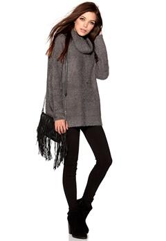 Culture Reanna Knit Jumper Skiffer Bubbleroom.se