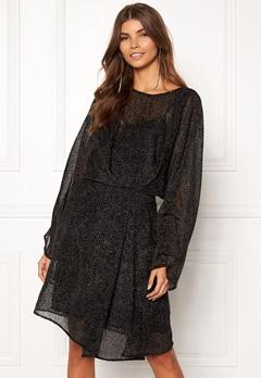 DAGMAR Adina Dress Black Bubbleroom.se