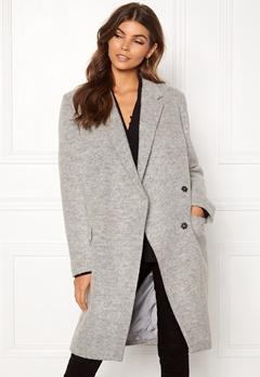 DAGMAR Anissa Coat Light Grey Melange Bubbleroom.se