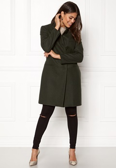 DAGMAR Annie Coat Military Green Bubbleroom.se