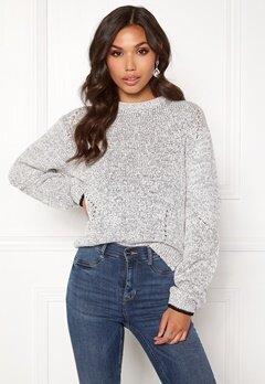 DAGMAR Bel Sweater Salt&Pepper Bubbleroom.se