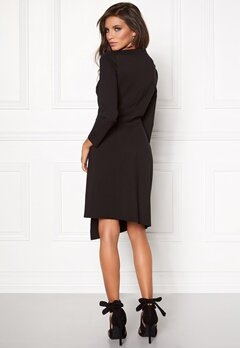 DAGMAR Dress Black Bubbleroom.se