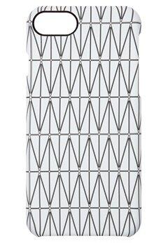 DAGMAR Iphone 7  Case Grid White Bubbleroom.dk
