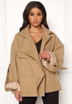 DAGMAR Jaqueline Jacket Camel Bubbleroom.se