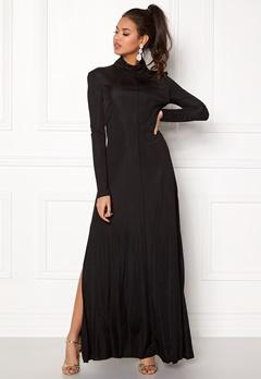 DAGMAR Joan Maxi Dress Black Bubbleroom.se