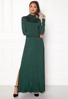 DAGMAR Joan Maxi Dress Emerald Green Bubbleroom.se
