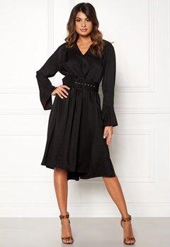 DAGMAR Josephine Dress Black Bubbleroom.se