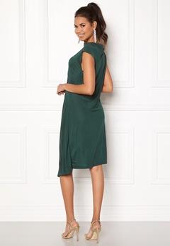 DAGMAR Josie Dress Emerald Green Bubbleroom.fi