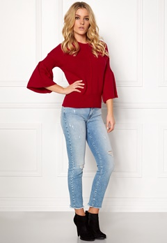DAGMAR Livia Top Lipstick Red Bubbleroom.fi