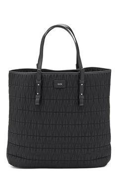 DAGMAR Quilted Shopping Bag Black Bubbleroom.se