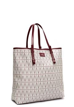DAGMAR Shopping Bag Light grey Bubbleroom.se