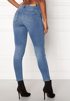ONLY Daisy Reg Pushup Ankle Jeans Light Blue Denim Bubbleroom.se