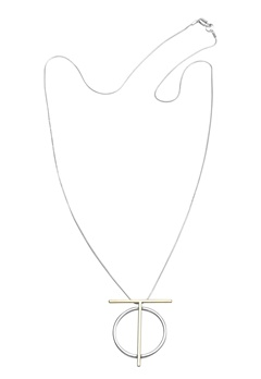 Pieces Dallia long necklace Gold colour Bubbleroom.se