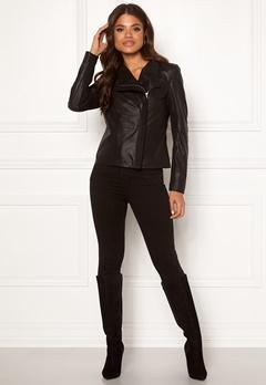 Y.A.S Daniella Naplon Jacket Black Bubbleroom.se