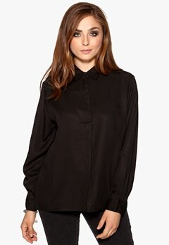 D.Brand Agnes Shirt Black Bubbleroom.no