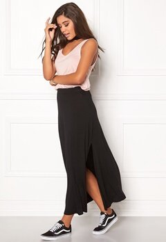 D.Brand Berit Maxi Skirt Black Bubbleroom.se
