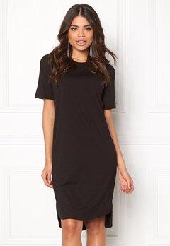 D.Brand Ellen Tee Dress Black Bubbleroom.no