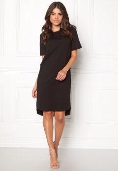D.Brand Ellen Tee Dress Black Bubbleroom.se