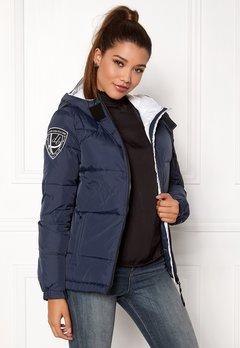 D.Brand Eskimå Jacket Navy/White Bubbleroom.se