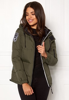 D.Brand Eskimå Jacket Olive Green/Black Bubbleroom.se