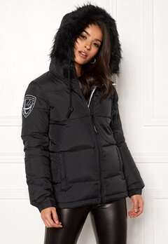 D.Brand Eskimå Short Jacket Black/Black Bubbleroom.se