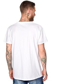 D.Brand Face Tee White Bubbleroom.no