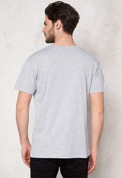D.Brand Foil T-shirt Grey Bubbleroom.no