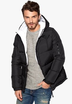 D.Brand Igloo Jacket Black/White Bubbleroom.se
