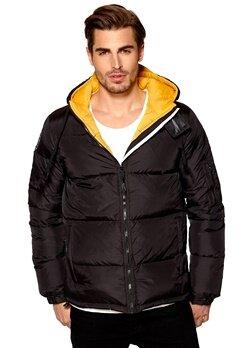 D.Brand Igloo Jacket Black/Yellow Bubbleroom.se