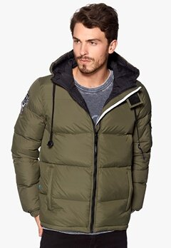 D.Brand Igloo Jacket Olive Green/Black Bubbleroom.no