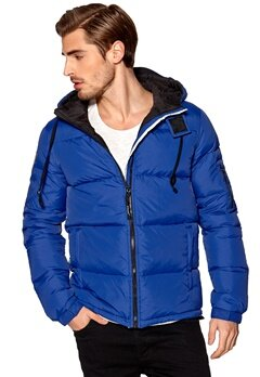 D.Brand Igloo Jacket Royal Blue Bubbleroom.se