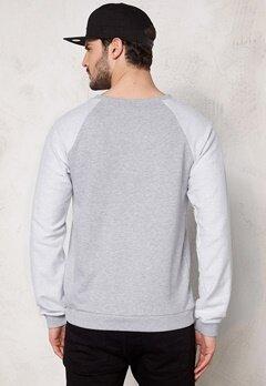 D.Brand Mr Sandwich Sweatshirt Grey Bubbleroom.se