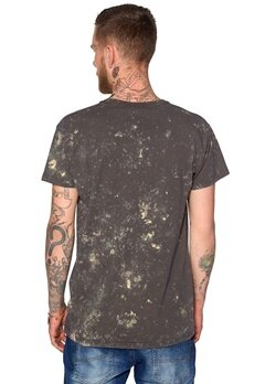 D.Brand Star Wash Tee Olive Green Bubbleroom.no