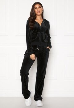 Juicy Couture Del Ray Classic Velour Pant Black Bubbleroom.se