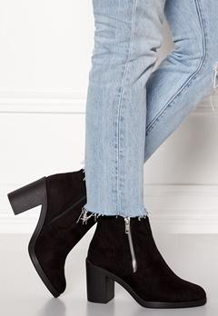 New Look Doodle Side Zip boots Black Bubbleroom.se