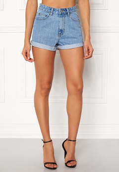 Dr. Denim Jenn Shorts Light Retro Bubbleroom.se